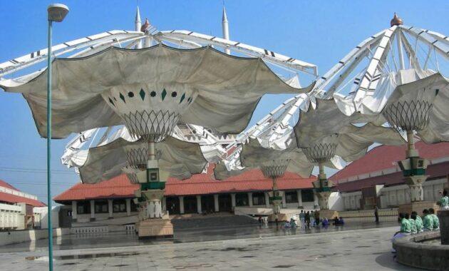 10 Gambar Masjid Agung Jawa Tengah Majt Semarang Hotel Dekat