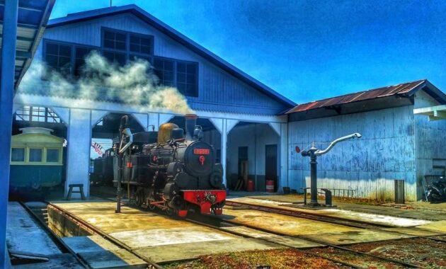 Harga Tiket Masuk Museum Kereta Api Ambarawa Ditutup Dibuka
