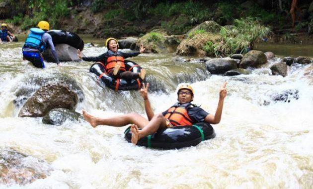 Tuk gong adventure magelang wisata candimulyo harga tubing mangu river jawa tengah karangampel tampir