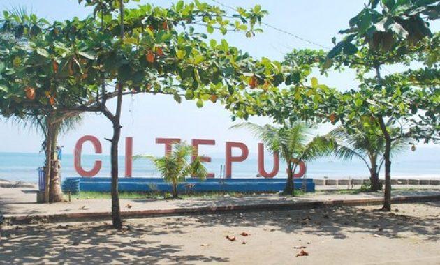 10 Foto Pantai Citepus Sukabumi Jawa Barat Penginapan Di
