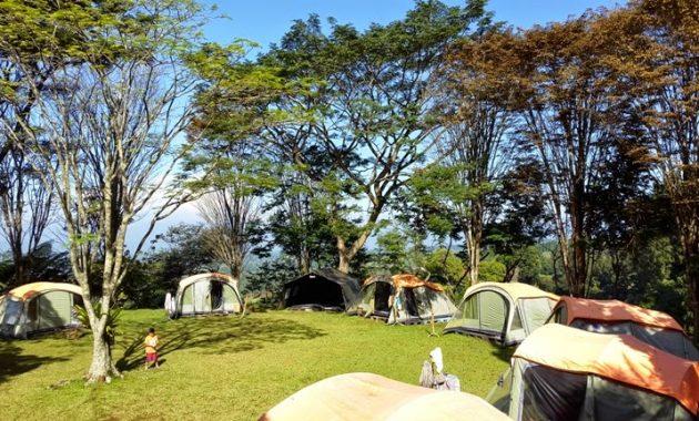 camping situ gunung