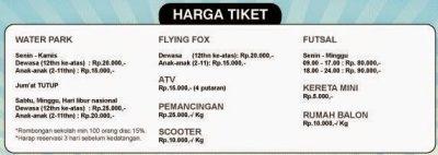 Tiket Wahana Lain | Foto: batas-depok.blogspot.co.id
