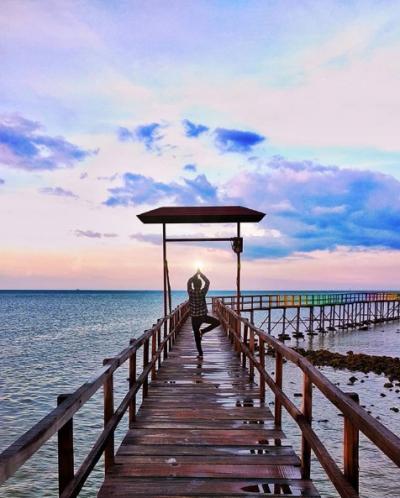 Meraih Sang Surya   Instagram @ochied_junior
