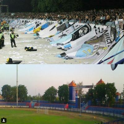 Protes Para Supporter   Instagram @stadionsurajaya