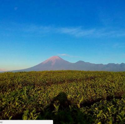Gunungnya Terlihat Jelas | Foto: Instagram @vegas1094