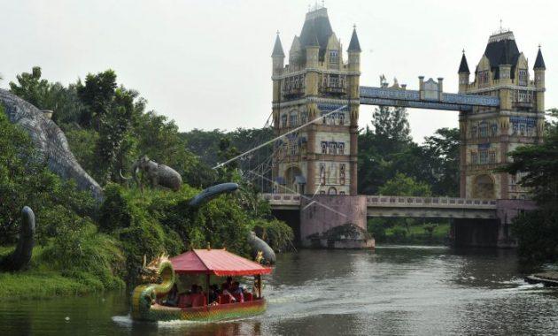 10 Gambar Fantasy Island Cibubur Harga Tiket Masuk Lokasi Alamat