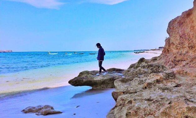 10 Foto Pantai Cemara Lombok Timur Ntb Jalan Menuju Lokasi Wisata