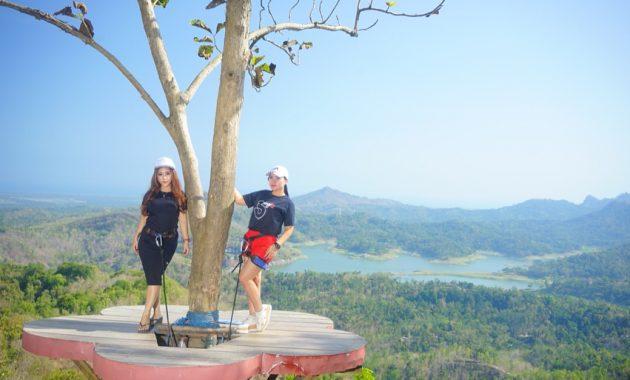 Selain Menegangkan, Wisata Alam Kalibiru Juga Sangat Instagramable
