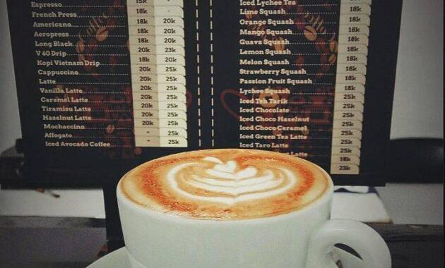 6 Cafe di Kebon Jeruk, Tempat Nongkrong Coffee Shop Ngopi ...
