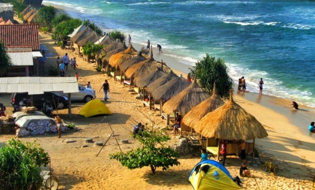 10 Gambar Pantai Sadranan Wonosari Jogja Harga Tiket Masuk Snorkeling Rute Lokasi Jejakpiknik Com