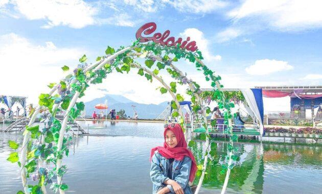10 Spot Foto Di Taman Bunga Celosia Bandungan Semarang