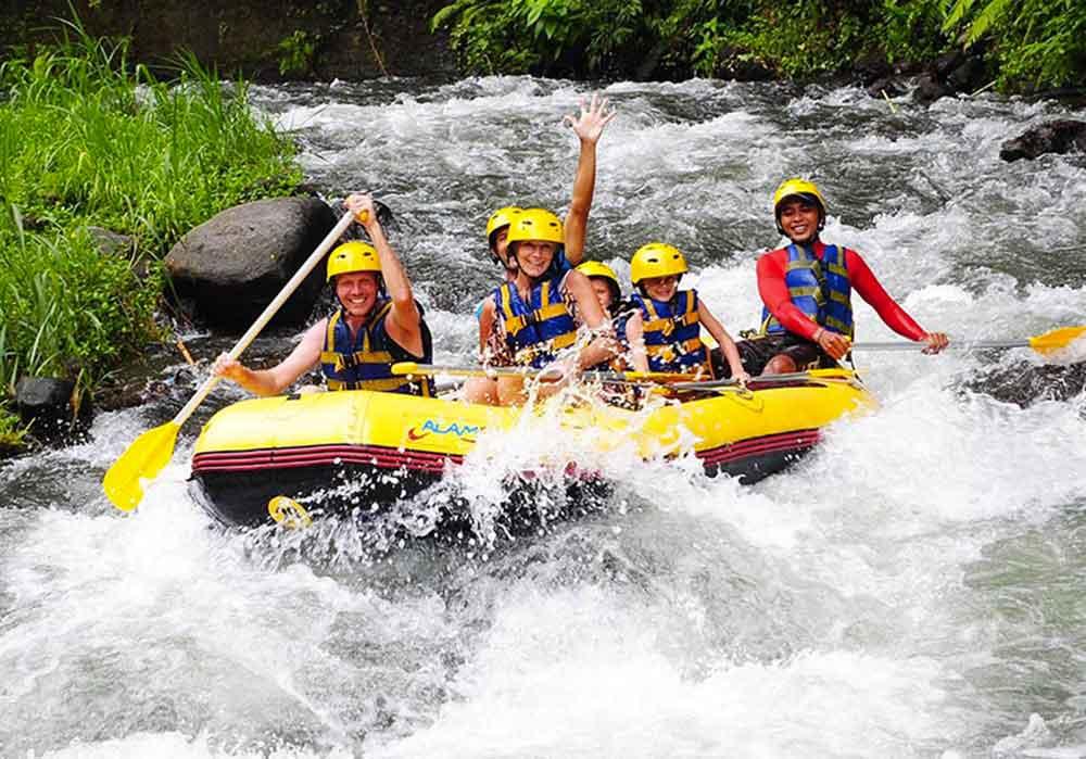 Image result for rafting telaga waja
