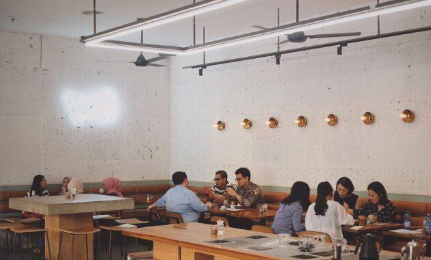 Restoran di setiabudi one tempat makan building jakarta daftar enak puput jepang korea thailand