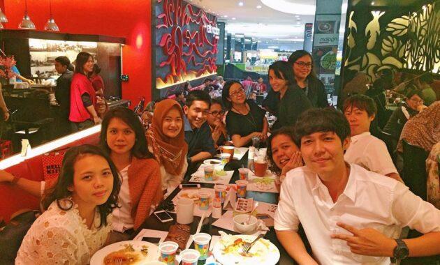 Restoran di fx sudirman tempat makan jakarta daftar plaza senayan resto mall ngalam lifestyle korea